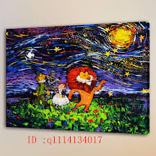2018 van gogh the wizard of oz hd canvas prints wall art oil painting home decor unframed framed from q1114134017 5 13 dhgate com on wizard of oz wall art with 2018 van gogh the wizard of oz hd canvas prints wall art oil