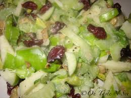 Image result for Lettuce,  raisins and celery Salad