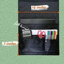 Pocket Chart File Folder Organizer With 9 Large 2 Small