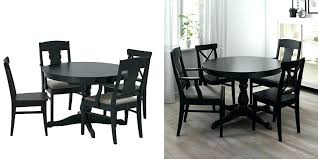 ikea kitchen table chairs glass