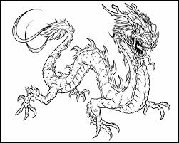 Small Picture Chinese Dragon Coloring Coloring Pages