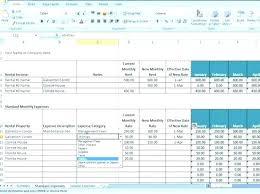 Rental Template Excel Rental Property Ledger Template