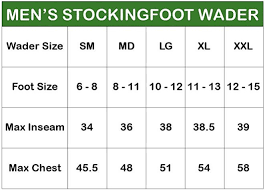 Frogg Toggs 2711136 Canyon Ii Stockingfoot Chest Wader