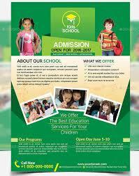 20 Cool Flyer Templates For Kid School Desiznworld School Pantry