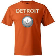Detroit Power Mens Hanes Beefy T Shirt