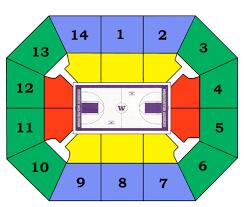 Alaska Airlines Stadium Seating Chart Alaska Airlines Arena Seating Chart Ticket Solutions