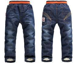 Boys Girls Winter Pants Warm Trousers Thick Fleece Children