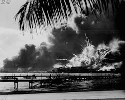 pearl harbor research uss shaw exploding during the ese raid on pearl harbor g national archives