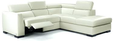 modern reclining sectional to new modern reclining sectional sofa modern white leather reclining sectional