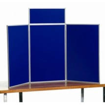 table display stands. portrait table top panel display stands i