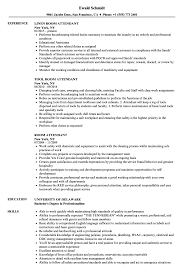 Room Attendant Resume Samples Velvet Jobs