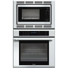 thermador masterpiece series 29 7 single electric convection wall oven with built in microwave