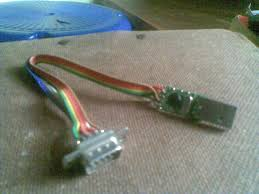 diy cheapest usb to serial converter achu s techblog my home made usb to serial converter