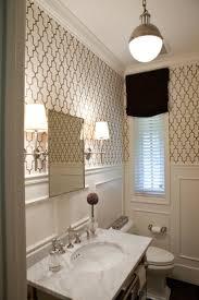 Powder Room Wallpaper 20 Best Wallpaper Bathroom Images On Pinterest Room Bathroom