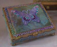 Decorating Cigar Boxes CREATIVITY IS CONTAGIOUS APRIL'S ART ADVENTURE AN ALTERED CIGAR 2