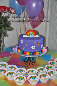 so for my sweet 2 year old a my little pony cake and cookies