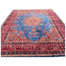 antique area rugs blue rug hand knotted handmade wool oriental woven made carpet large antique area rugs