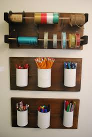 diy office storage could replace one of the rows maybe with ribbon diy office storage ideas s18 office
