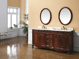 Wood Vanity Bathroom Mid Century Bathroom Vanities With Tops Ideas Along With Double