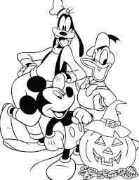 Disney Halloween Coloring Page