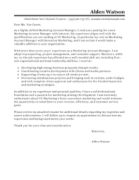 Cover Letter Account Executive Cover Letter Samples Advertising