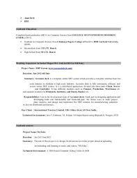 Java Developer Resume Objective Gottayotti Legrandcru Us