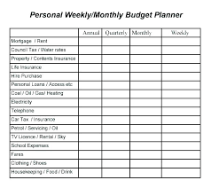 Personal Home Budgeting Excel Home Budget Template Bills Spreadsheet Free Household