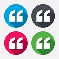 Quote Symbol Enchanting Quote Sign Icon Quotation Mark In Speech Bubble Symbol Double