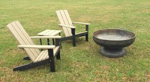 ... Two Tone Modern Poly Adirondack Chair ...