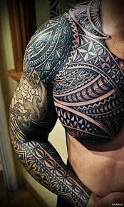 та моко татуировки маори