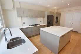image modern kitchen lighting.  Modern Light Grey Kitchen Modernkitchen Throughout Image Modern Kitchen Lighting