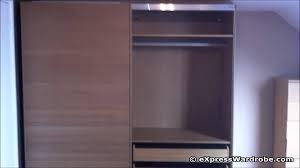 interior sliding doors ikea. IKEA Pax Malm Sliding Door Wardrobe Design With Interior Chest Of Drawers - YouTube Doors Ikea O