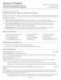 Preschool Teacher Resume Resume Of A Preschool Teacher Talktomartyb