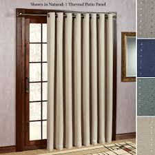 Patio Door Curtain Grand Pointe Room Darkening Thermal Grommet Patio Panel