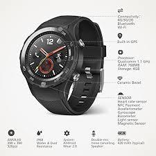 huawei smartwatch black. huawei watch 2 bluetooth 4g sport smartwatch black
