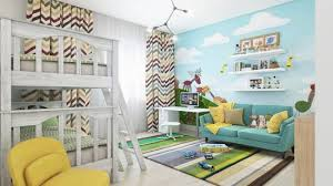 Small Picture 37 Joyful Kids Room Design Ideas With Blue Yellow Tones