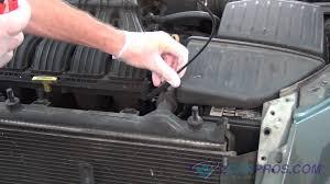 radiator fan replacement chrysler pt cruiser