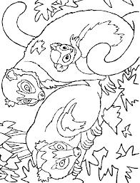 Kleurplaten Baby Aapjes Affe Malvorlagen Malvorlagen1001 De