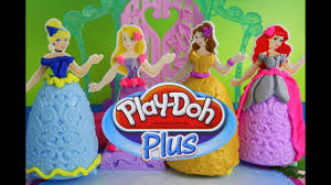 Play Doh Disney Princess Design A Dress Ballroom Play Doh Plus Design A Dress Ballroom Disney Princess Play Doh Rapunzel Ariel Cinderella And Belle Youtube