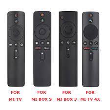 For Xiaomi Mi TV, Box S, BOX 3, MI TV 4X Voice Bluetooth Remote Control  with the Google Assistant Control|Remote Controls