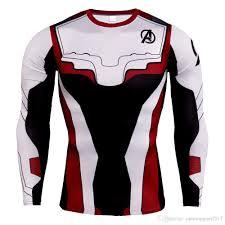 Designer Rash Guard 2019 Designer Gym T Shirt Compression Long Sleeve Men Running Shirt Summer Males Super Hero Rashguard Male Crossfit From Runningman2017 10 33