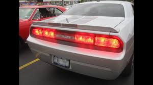 Challenger Sequential Lights 2006 13 Plug N Play Challenger Sequential Led Tail Light Kit