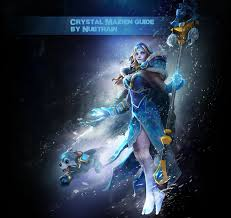 crystal maiden build guide dota 2 crystal maiden a chilly ride