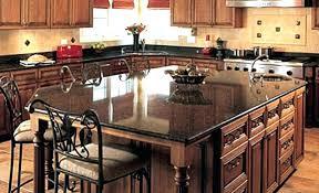 kitchen island with granite overhang support in designs countertop brackets