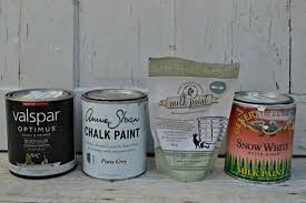 what is the best paint for painting furniture comparison between latex chalk milk