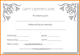 Make Your Own Gift Certificates Free 6 Create Your Own Gift Certificate Template Free Grittrader