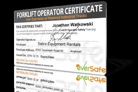 Get 18 Forklift Certification Cards Template Free Document And
