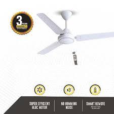 gorilla efficio energy saving 5 star rated 3 blade ceiling fan best ceiling fans in