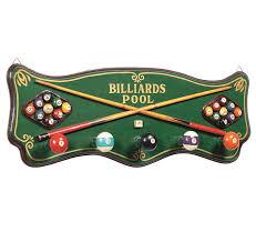 billiards coat rack r181