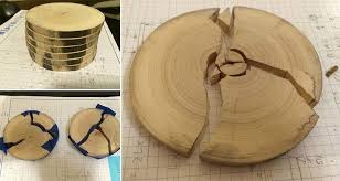 these awesome diy wooden coasters are ed and filled in with blue goo to create an awesome effect